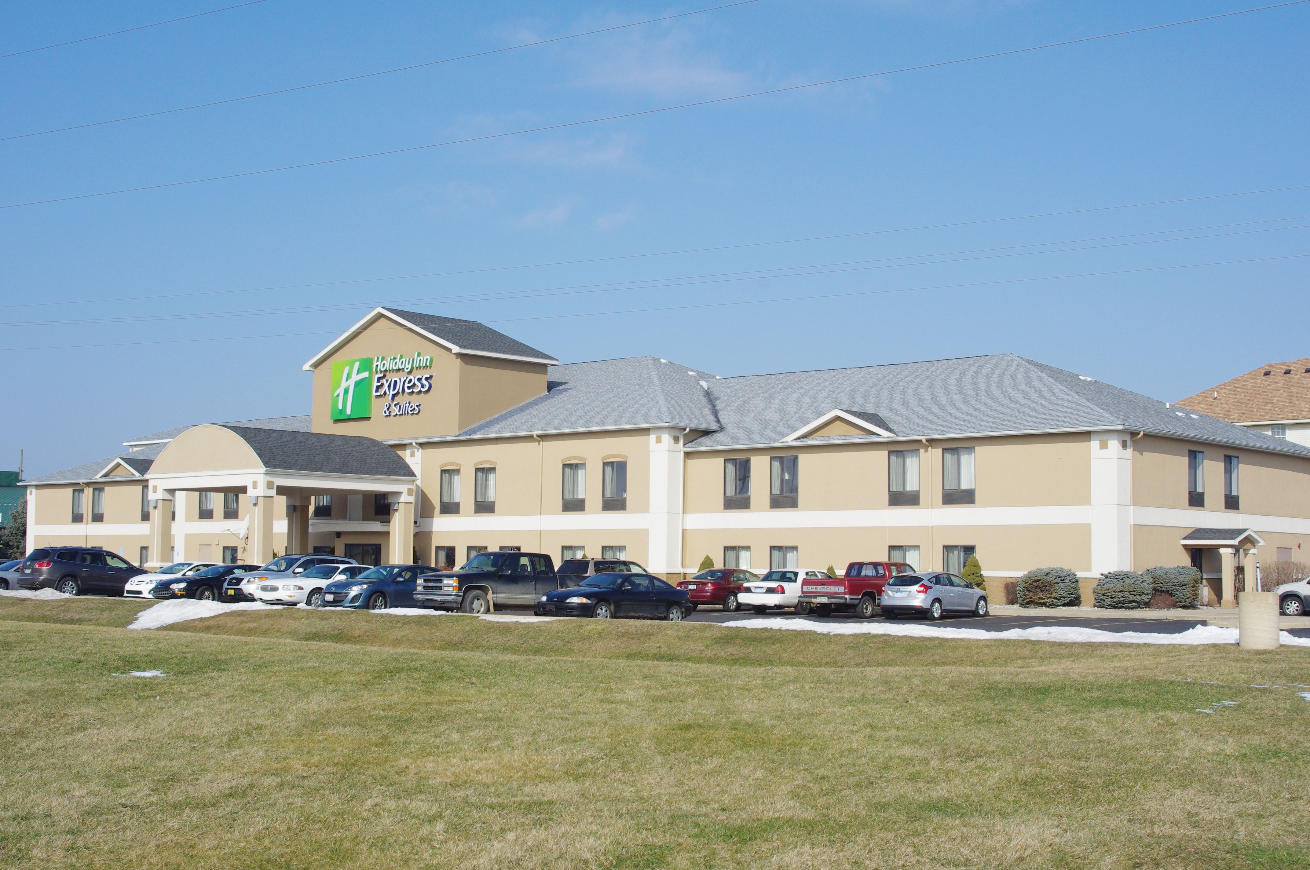 Lodging Options Include The Holiday Inn Express Hotel Suites At 1207 West Broadway In Three