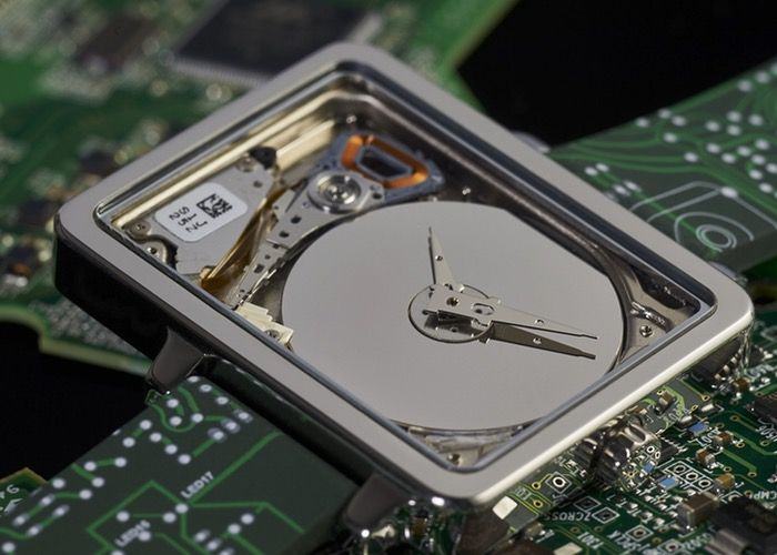 HDD Watches Look Cool, Just Tell Time