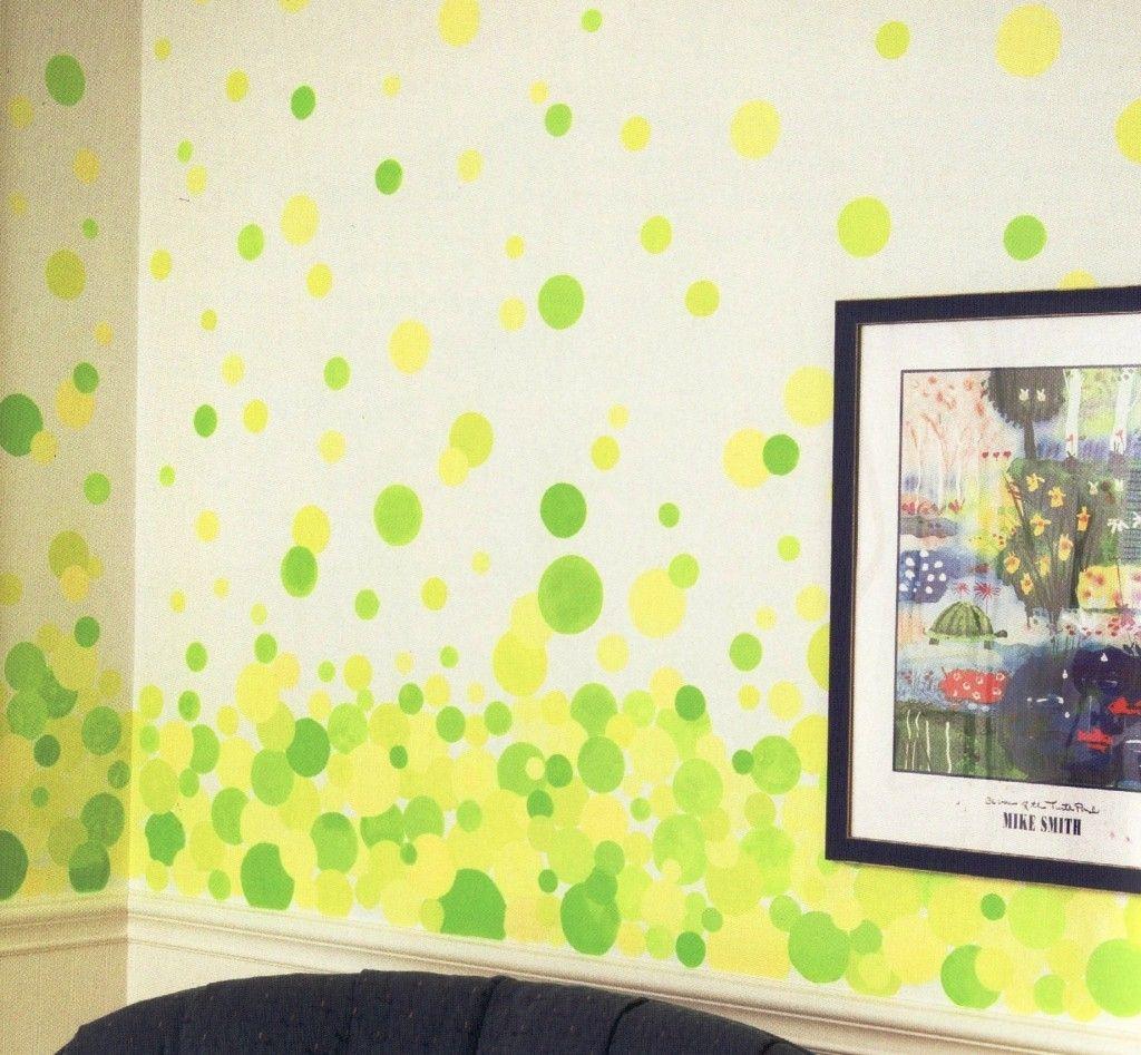 Bubble Painting 1   laundry room   Pinterest   Paint techniques ...