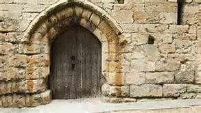 old spooky doors