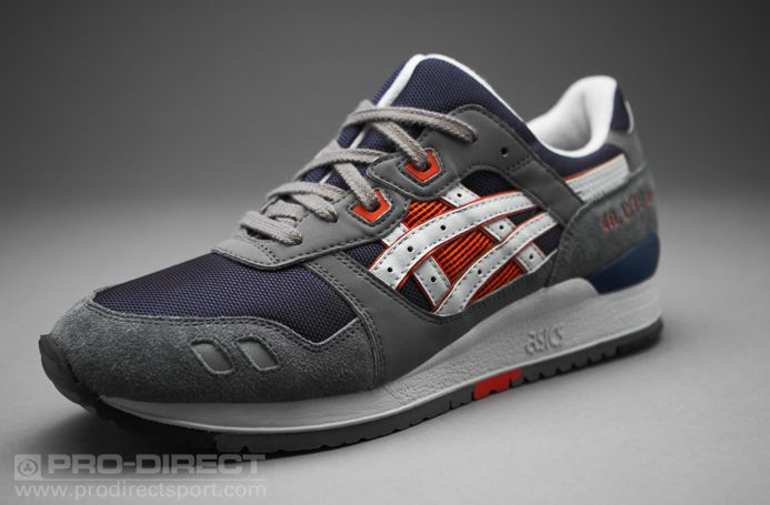 Asics Gel-Lyte III - Mens Select Footwear - Navy-Grey  180c7a7973
