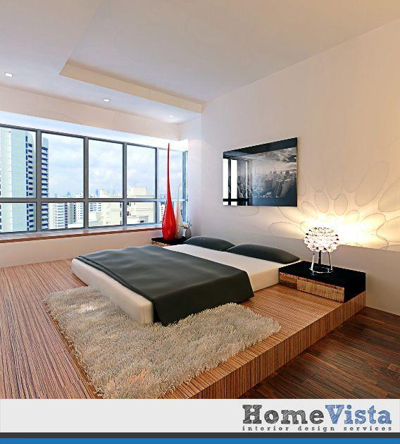 современные спальни дизайн: HDB 4-Room Industrial Contemporary Design @ Blk 618
