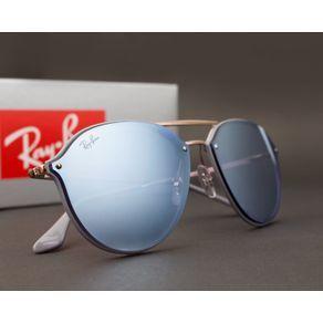 O Óculos de Sol Masculino e Feminino Ray Ban Blaze Double Bridge RB4292N  63261U-62 dca5af6e52