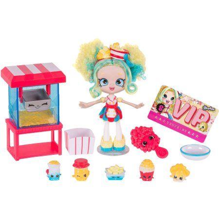 Shopkins Shoppies Popette S Popcorn Stop Walmart Com Shopkins And Shoppies Shoppies Dolls Shopkins