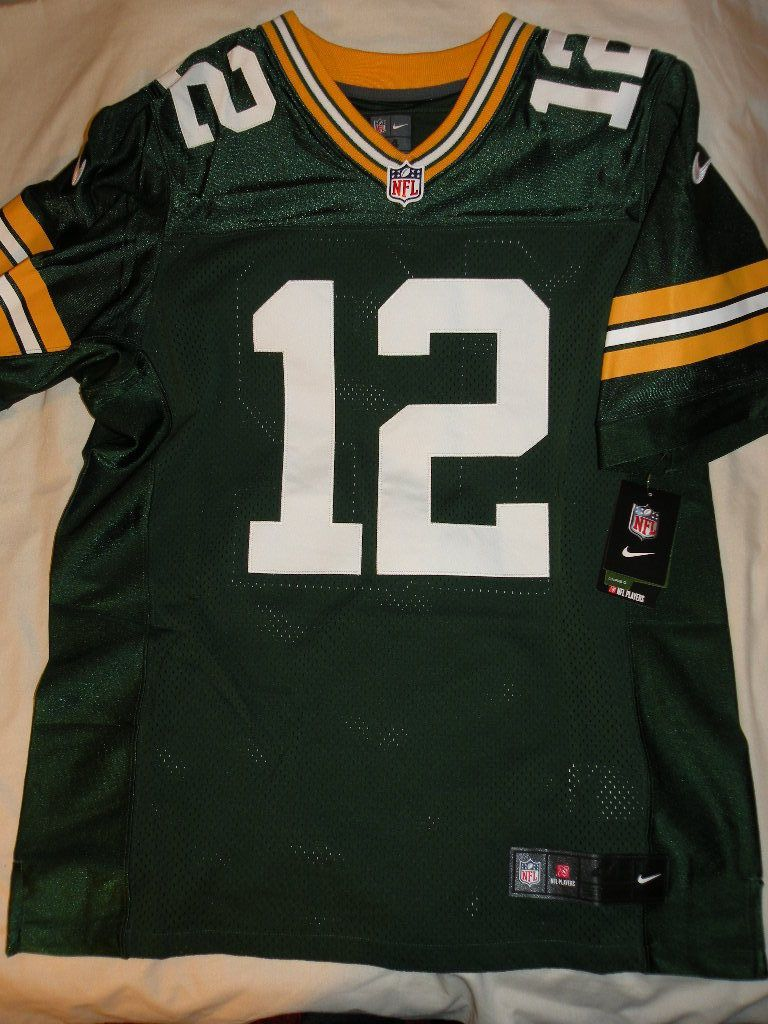 New Sz 40 Nike On Field Authentic Elite Green Bay Packers Rodgers Jersey 250 Green Bay Packers Nfl History Nfl Championships