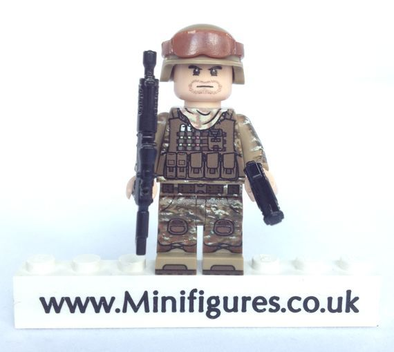 eclipseGrafx Military Assualt Class Trooper Tan