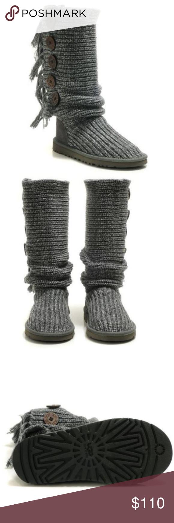 Ugg Australia Fringe Cardy Boots Like New Favorite Rib