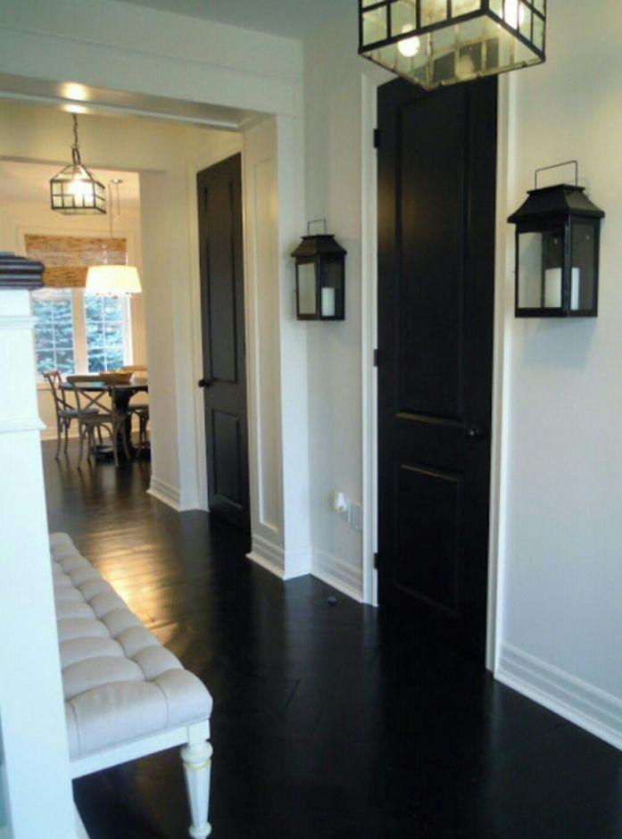 porte-noire-encadrement-blancjpgjpeg Décoration intérieure - Decoration Encadrement Porte Interieur