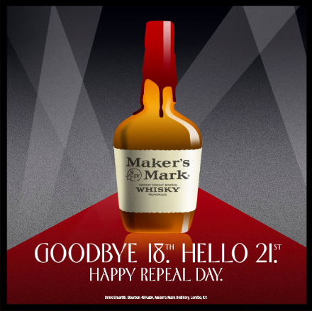 Maker's Mark Repeal Day