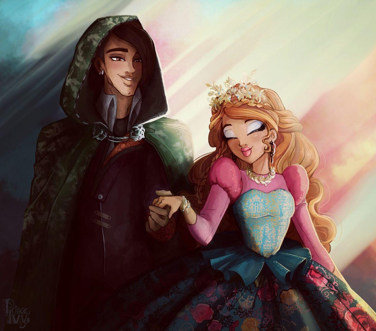 Ashlynn so this is love - ashlynn & hunter   monster high art, ever