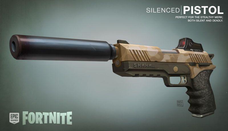 The Art Of Fortnite Kotaku Uk Lieblings Fortnite Waffen