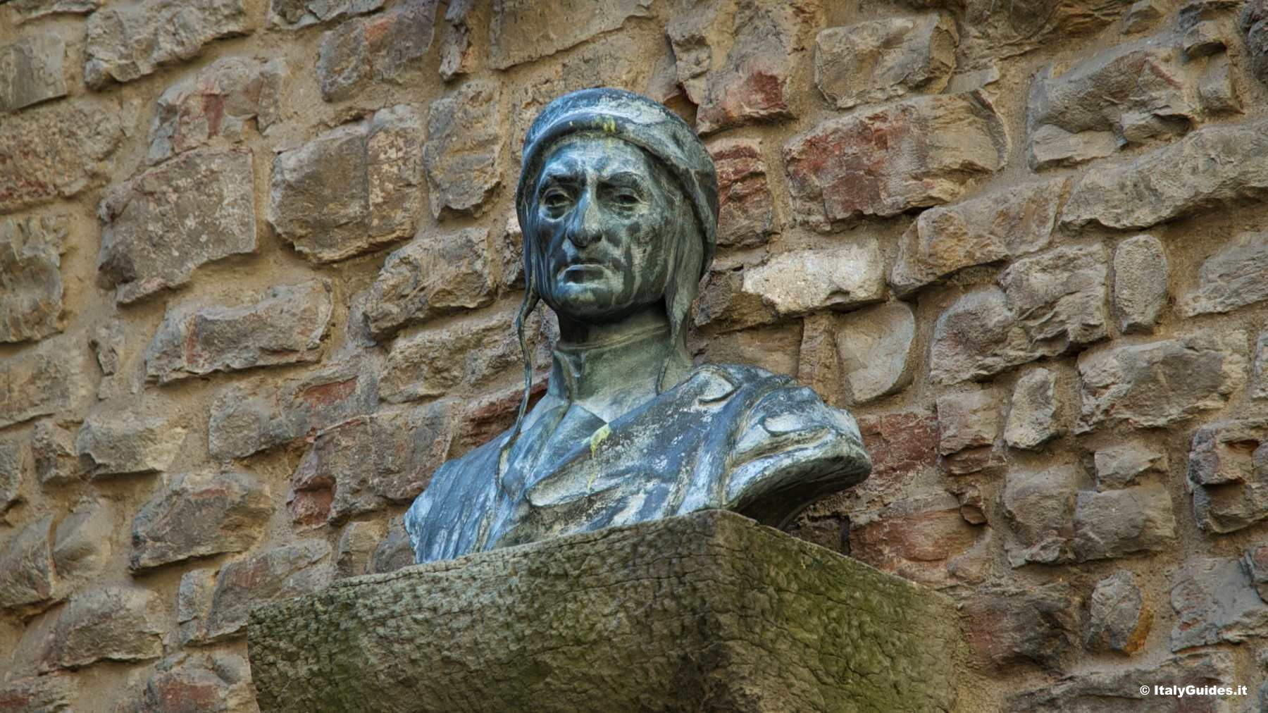 Busto Di Dante Alighieri Firenze Casa Di Dante Patrimonios