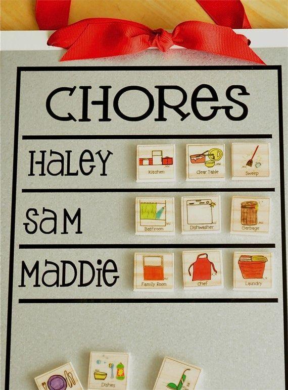 making a chore list