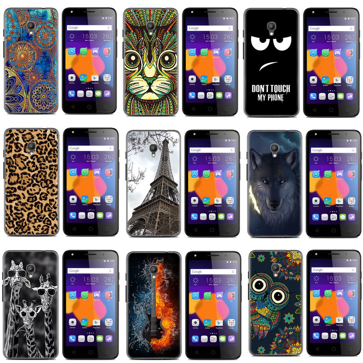 sports shoes b7254 d20ac $9.99 AUD - Case For Optus X Spirit Case Tpu Soft Protective Case ...