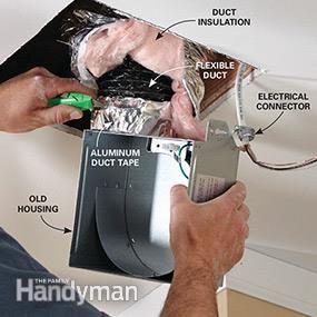 Fix a Noisy Bathroom Fan | Kitchen fan, Toilet repair ...