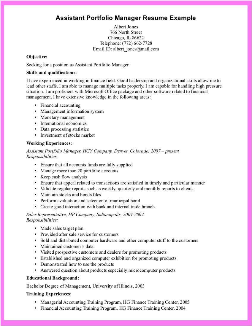 E-Portfolio Resume Examples #examples #portfolio #resume ...