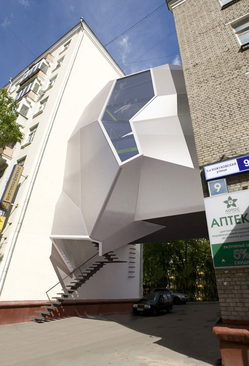 za bor architects parasite office in