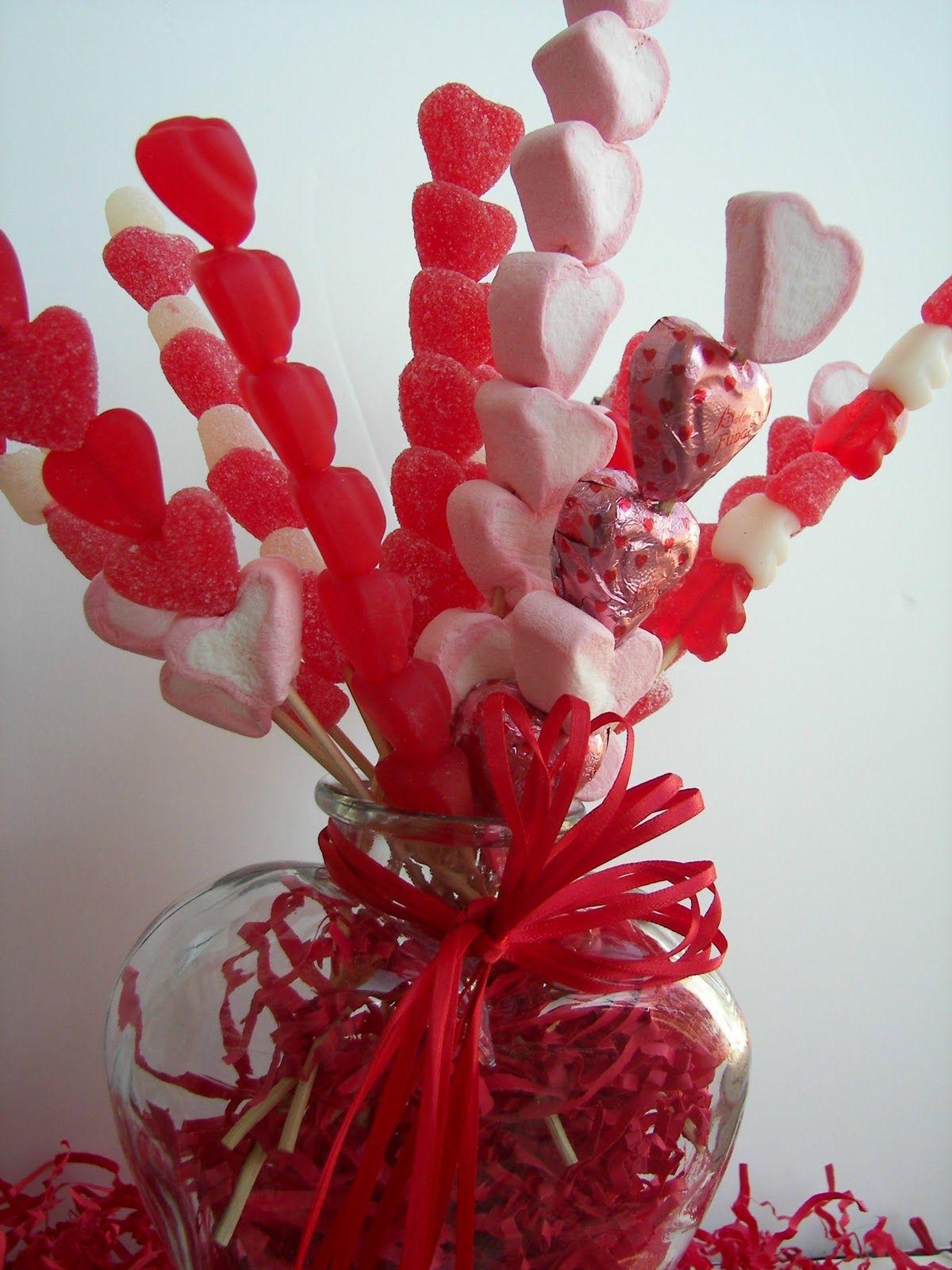 Valentine Candy Skewer Bouquet