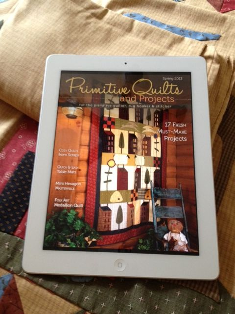 Enjoy Primitive Quilts and Projects on your iPad, tablet or ... : primitive quilts and projects magazine - Adamdwight.com