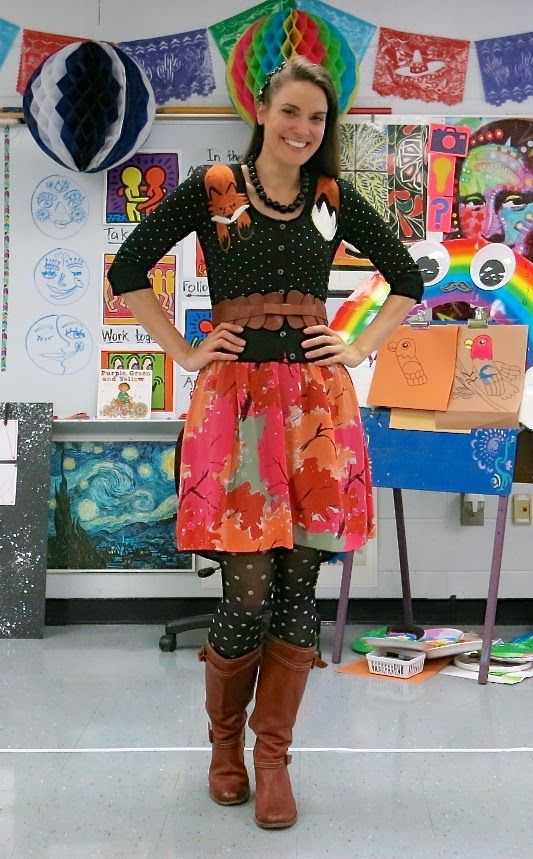 Art teacher outfit | my blog | Pinterest | Art teacher ...