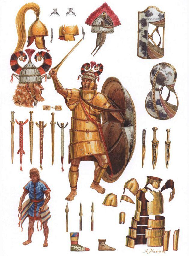 Achaean warrior 15th Century B...
