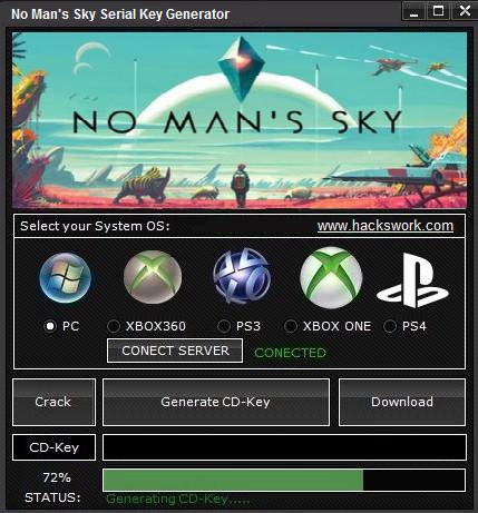 No Man's Sky Serial Key Generator [PC,PS3/4 & Xbox ONE/360
