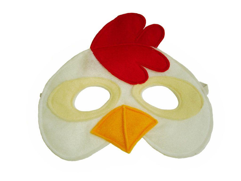 Word Descargar Children's CHICKEN Farm Animal Felt Mask