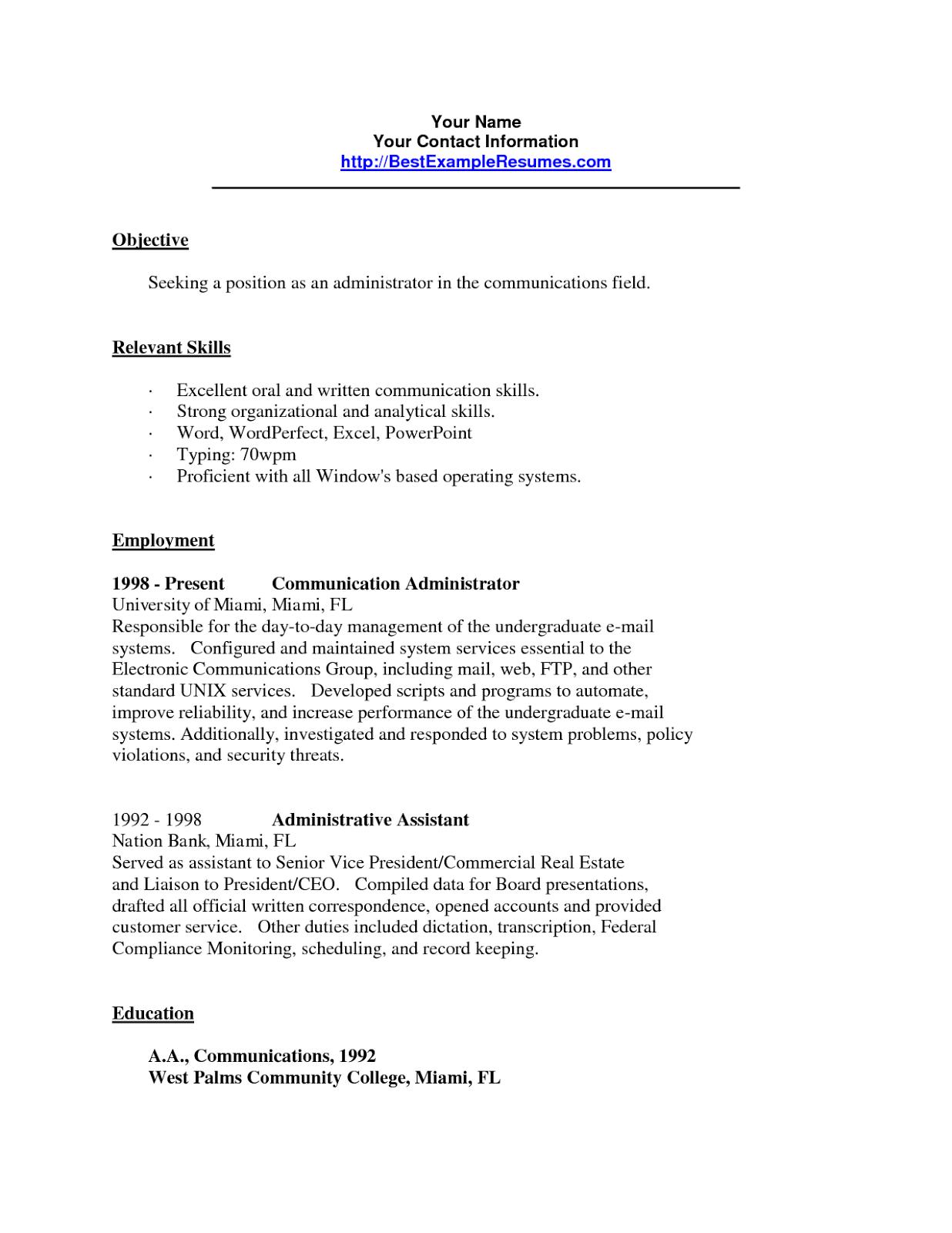 Resume Communication Skills Resume Skills Based Examples Sample  Home Design Idea  Pinterest .