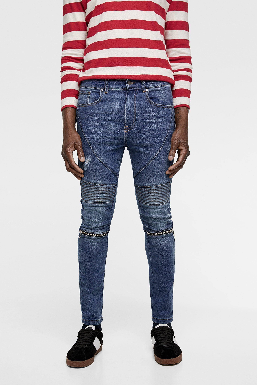 pantalon skinny homme zara