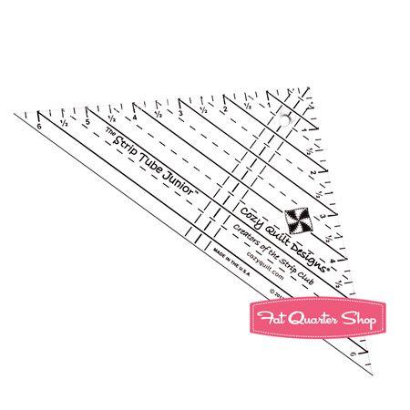 The Strip Tube Junior Ruler Cozy Quilt Designs #CQD05006