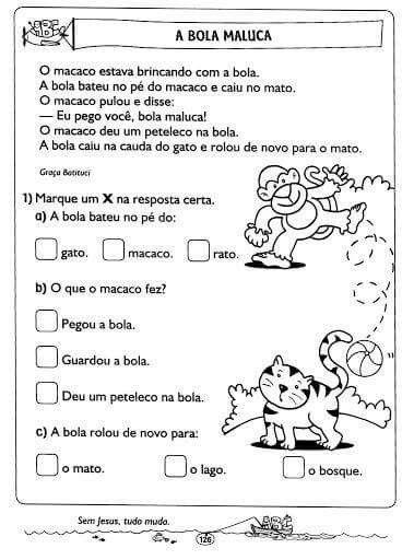 Texto Letra B Atividades Alfabetizacao E Letramento Atividades