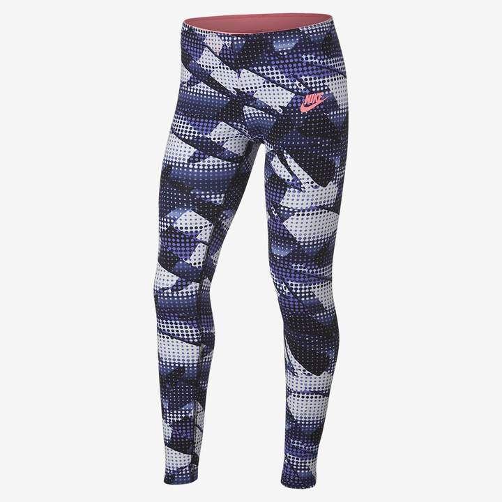brand new c76ba 6a872 Nike Sportswear Big Kids  (Girls ) Printed Leggings