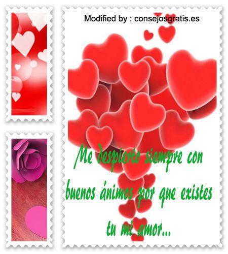 Mensajes De Buenos Dias Para Mi Amor Mensajes De Buenos Dias