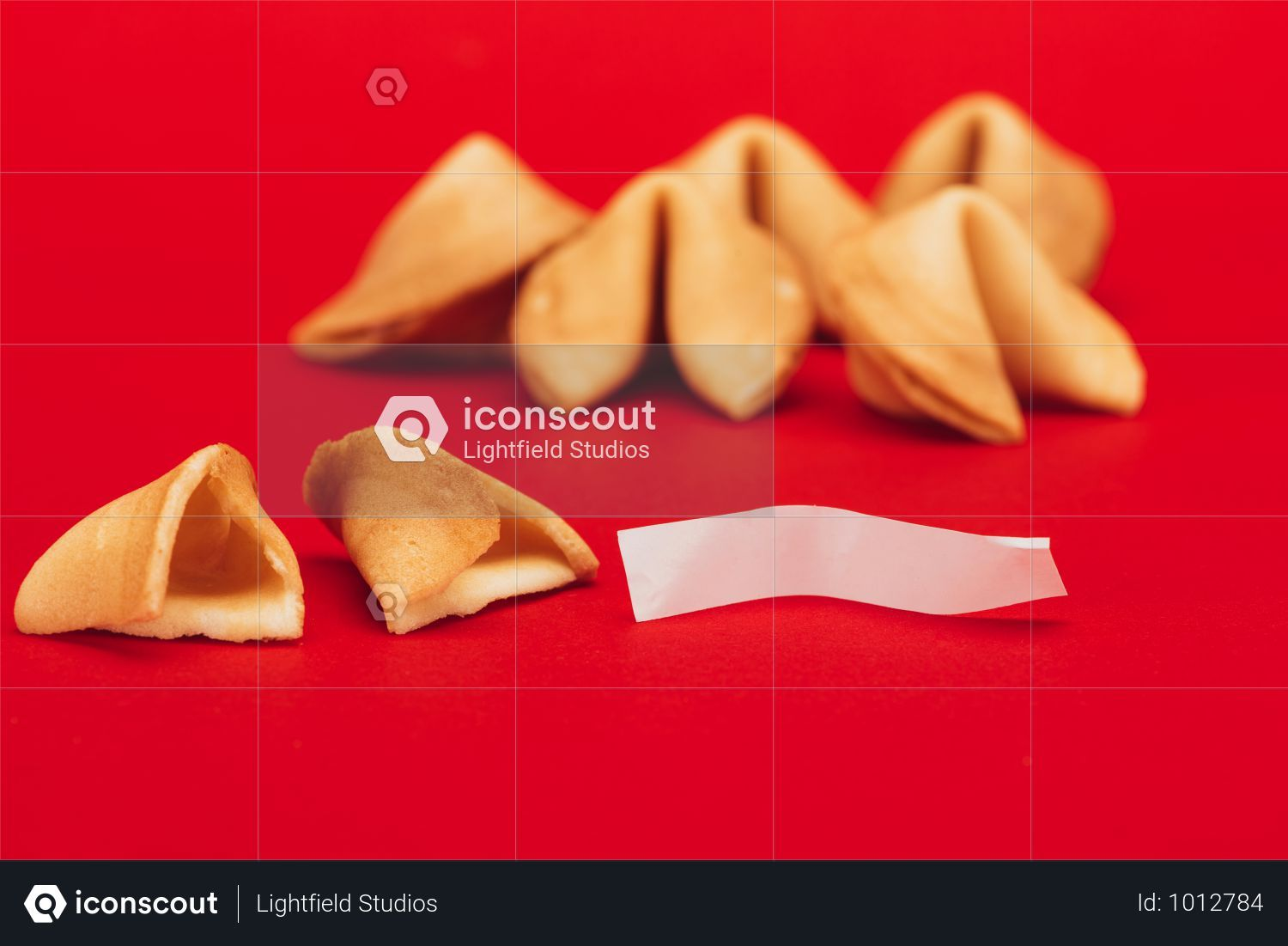 Premium Traditional Chinese Fortune Cookies On Red Surface Chinese New Year Concept Photo Download In Png Jpg Format Fortune Cookie Chinese Fortune Cookie Traditional Chinese
