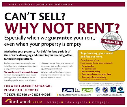 Lettings agents taking the opportunity to persude sellers that - rent with option to buy contract