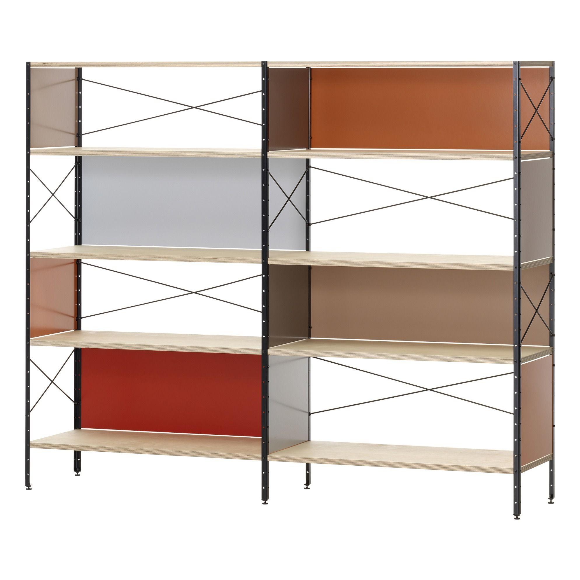 Eames Storage Unit ESU, Shelf 4 Shelves Charles & Ray