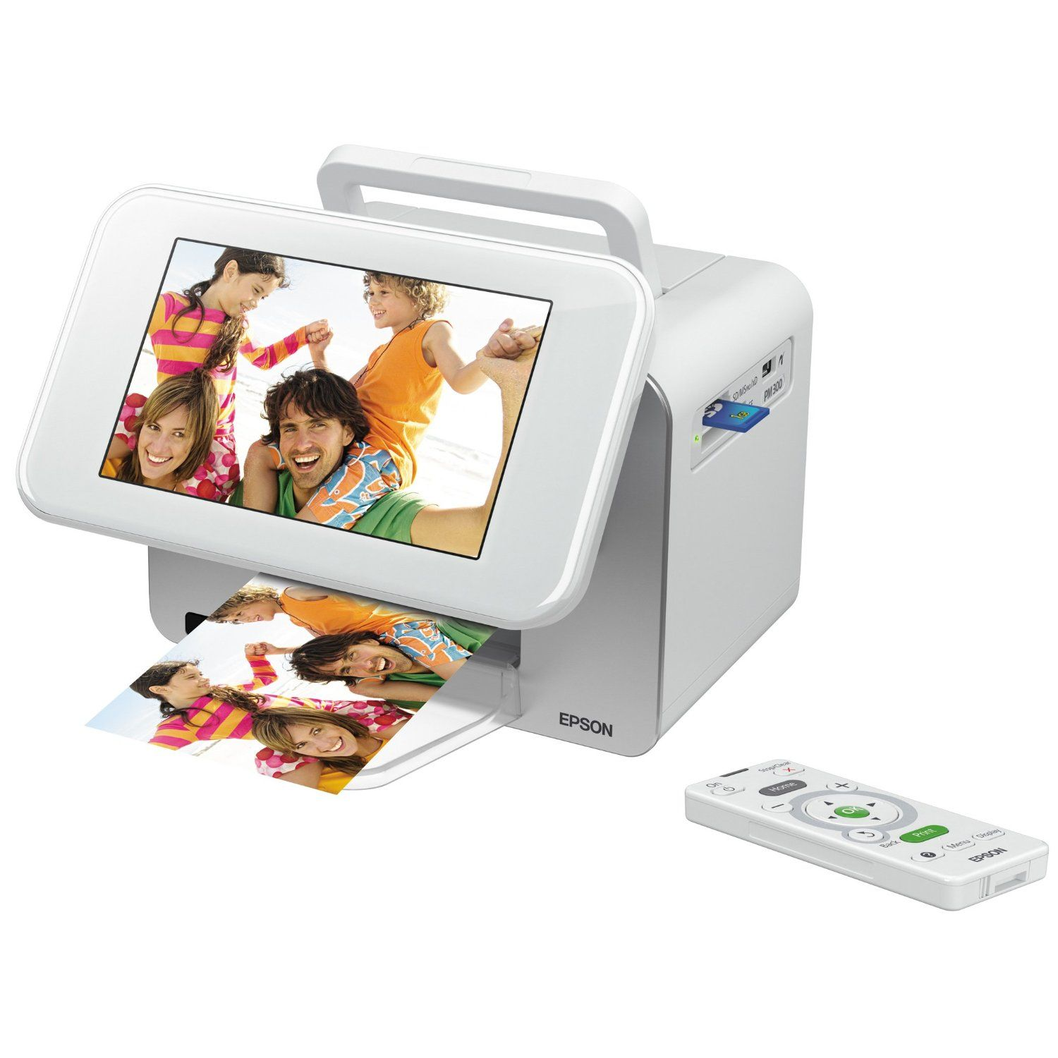 Amazon.com: Epson PictureMate Show Photo Printer and Digital Photo Frame (C11CA54203): Electronics