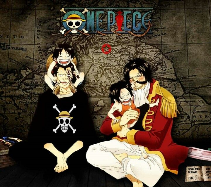 Dad And Son Monkey D Dragon One Piece Cosplay One Piece