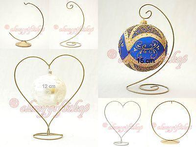 Easter Egg Holder Bauble Metal Stand Baubles Hanger Ornaments Display Cute