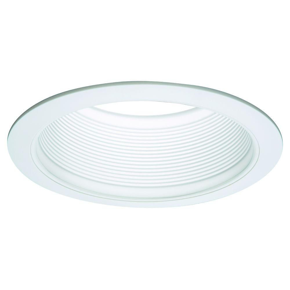 Halo E26 Series 6 In White Recessed Ceiling Light Fixture Trim