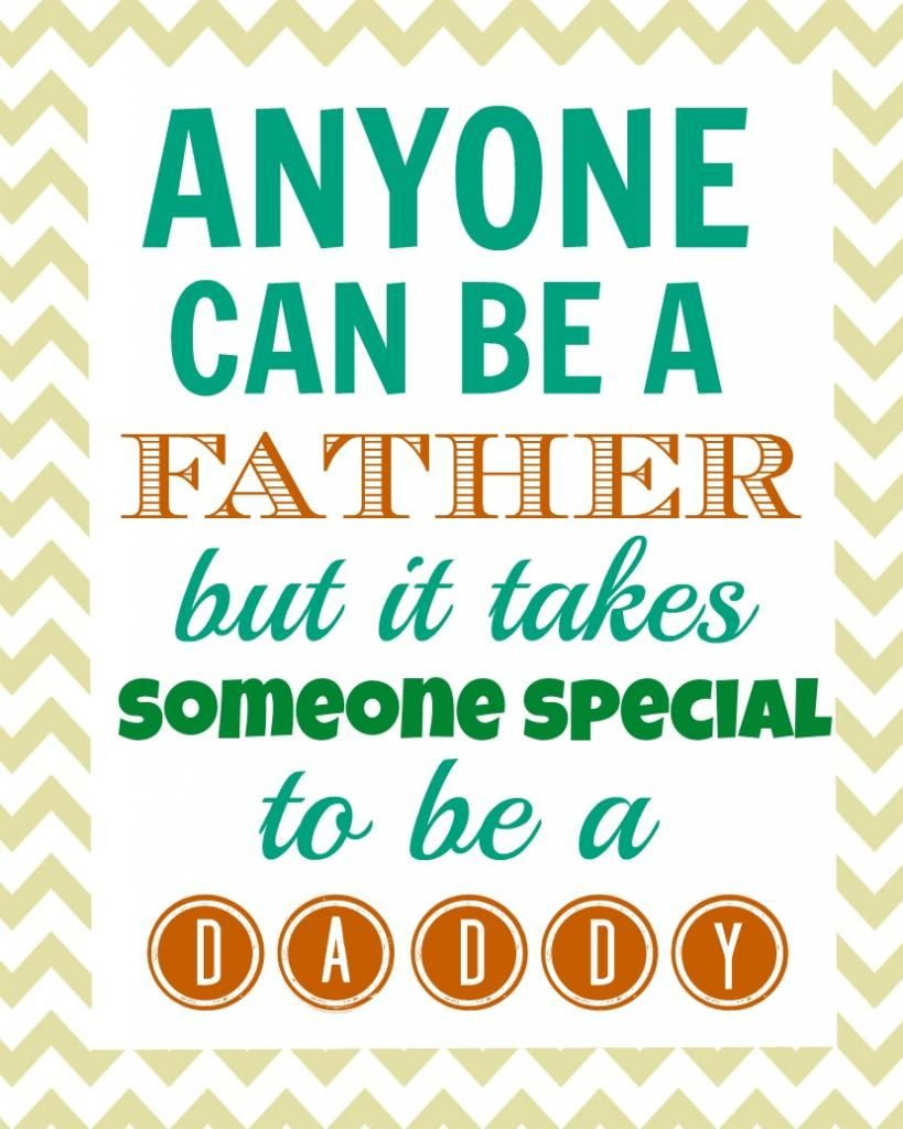 Fathers Day Quotes Father's Day Gift Idea With Free Printables  Free Printables And