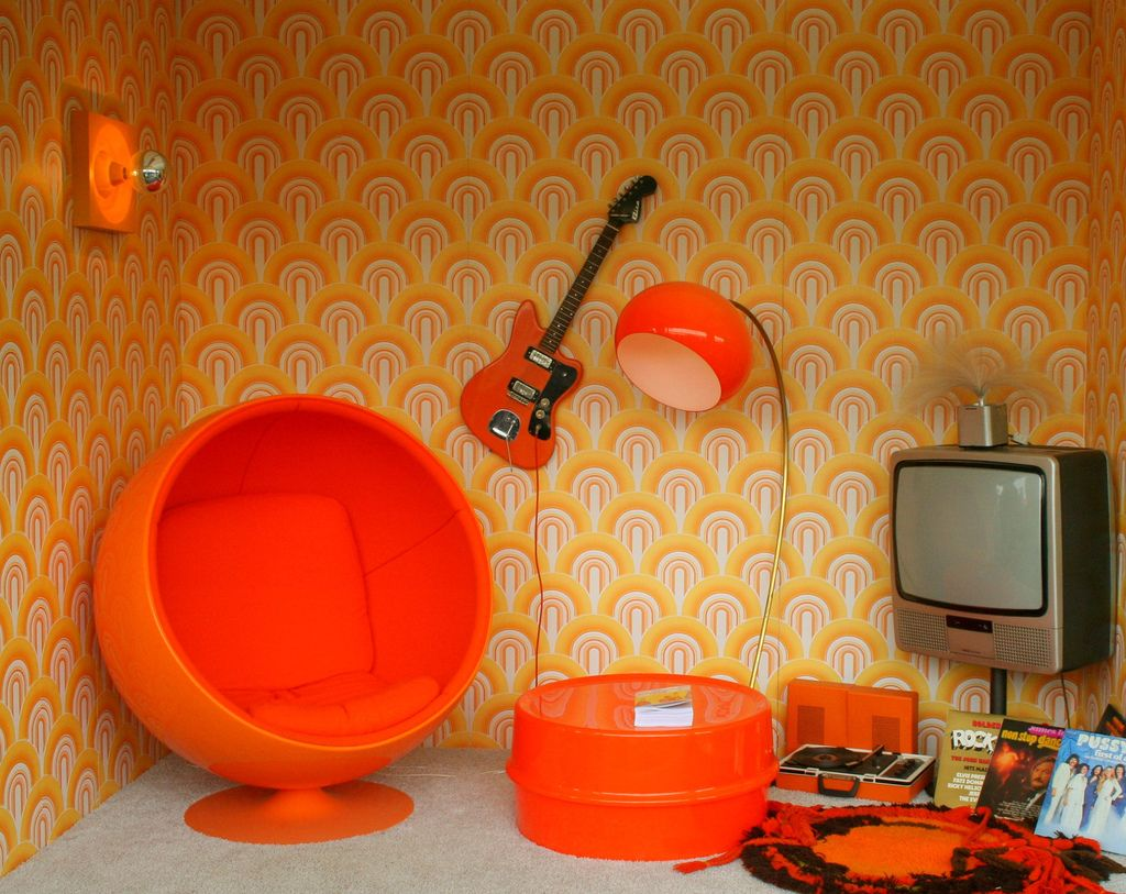 70s Decorating Style 70's style :) | interiors and modern