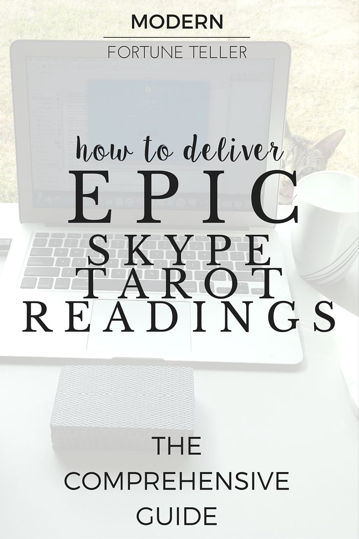 Skype tarot readings are a great way to reach others who are not in your local area. Online tarot businesses thrive when doing skype tarot readings. Not sure how to begin? Read this comprehensive guide to how to deliver epic skype tarot readings.