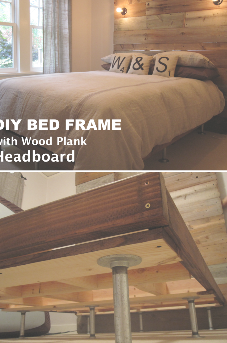 Reinforce A Basic Bed Frame Low Cost Fix Basic Bed Frame