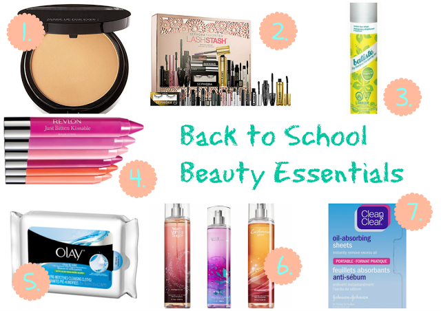 My Back to School Beauty Essentials