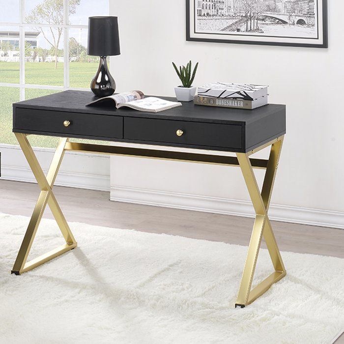 Dayne Black Writing Desk Home Decor Furniture Writing Desk