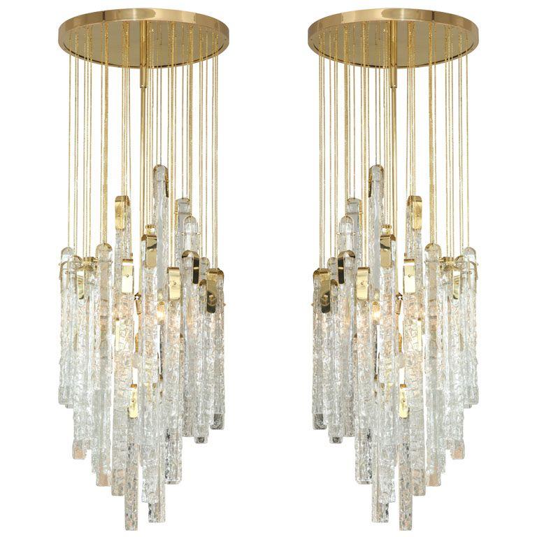 Mazzega Chandeliers Glass Chandelier Chandelier Pendant Lamp