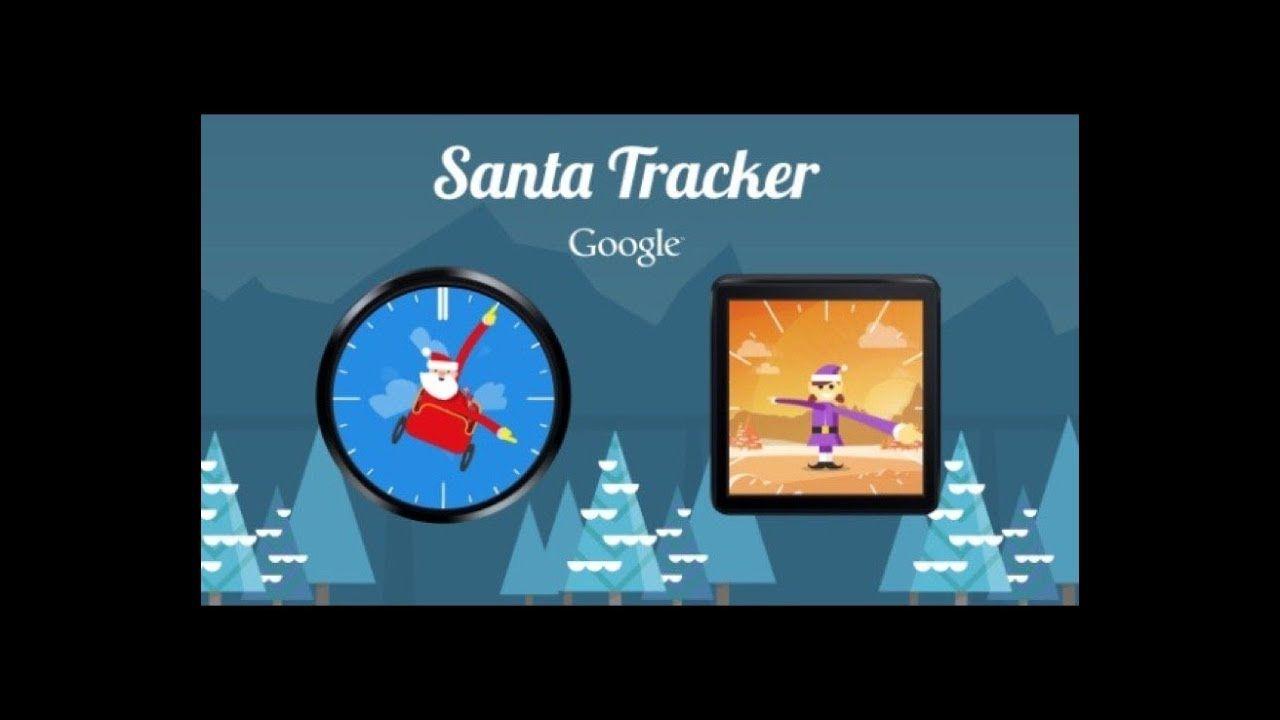 Santa Tracker 2017 Google and NORAD Christmas App, Games