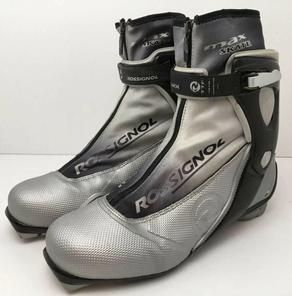 Rossignol Max Skate Cross Country XC Mens Ski Boots Size
