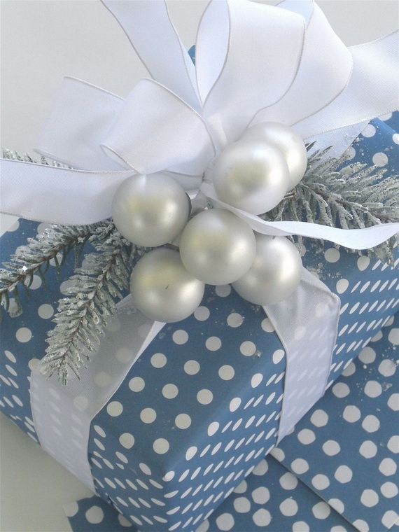 The 50 Most Gorgeous Christmas Gift Wrapping Ideas Ever_19 gift
